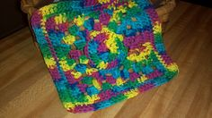 Crochet dish cloth from Red Heart patterns