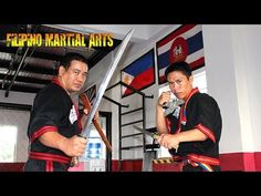 "Filipino Martial Arts -"" Arnis  Arnis, Eskrima, and Kali are umbrella terms for the traditional martial arts of the Philippines that emphasize weapon-based fighting with sticks, knives and other bladed weapons, and various improvised weapons. They also include hand-to-hand combat, joint locks, grappling and weapon disarming techniques.""  Overview also on the types of weaponry as well. Good stuff!"