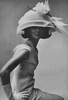 Photo by Irving Penn for Vogue, 1964.  meant for Ascot or Kentucky Derby