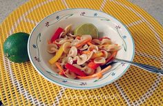 Hodgson MIll Pasta Contest Bow Thai Pasta Salad - By Andrea Hatfeild