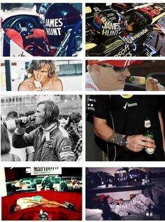 James Hunt & Kimi Räikkönen