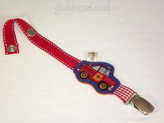 Attache Sucette Pompier - GiuliaRose