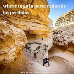 Where to go In Peru Ica Cañon de los Perdidos