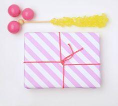 Stripes Wrap | Pastel Pink by Fig. 2 Design