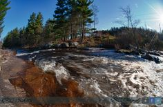 """Just a lil rushing water at Whetstone Gulf State Park.  Love it here...so much value and texture.  As I was leaving I could of swore I heard.  """"Hurry back now...Ya hear!""""   So I was invited.  lol  @QrcPhotography"""