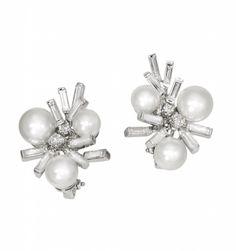 'Shangai' collection: akoya pearls and diamonds