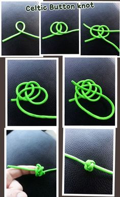 Celtic Button Knot