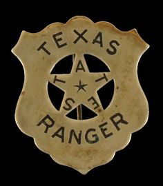 Texas Ranger badge