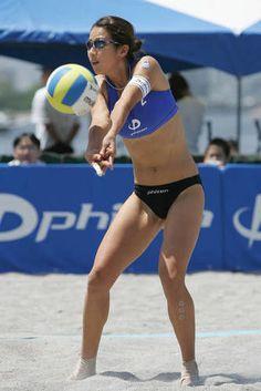 【ビーチバレー】浦田聖子(うらた さとこ)さんの画像177枚 - NAVER まとめ Beach Volleyball Girls, Women Volleyball, Beach Girls, Female Volleyball Players, Muscle Girls, Woman Beach, Sports Women, Gymnastics, Fit Women