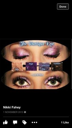 The #younique #eye US based #natural #cosmetic and #skin #care range launching in the #UK October 1st!!!  Who wants to be a part of the team and represent for this amazing brand?? Message me here or on Facebook : Jenah Colledge