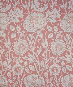 William Morris - Pink and Rose Wallpaper, 1890 looks like Premier Prints Mengi William Morris Wallpaper, Morris Wallpapers, Art Nouveau, Art Deco, Rose Wallpaper, Fabric Wallpaper, Textile Design, Textile Art, Textiles