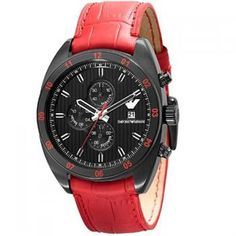 How About This Armani Watch For Women Armani Watches For Women, Watches For Men, Emporio Watches, Simple Bracelets, Discount Watches, Red Band, Mobile Accessories, Casio Watch, Emporio Armani