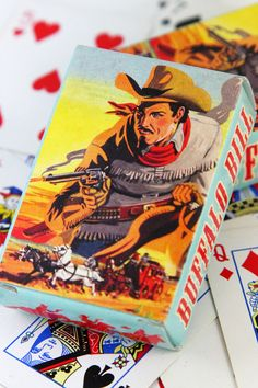 Cowboy playing cards | The Little Things