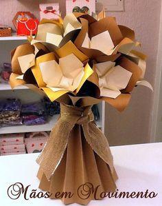 Arranjo Floral  - Origami Especial para decoração de Festa.