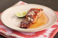 Honey Chipotle Lime Salmon - Handle the Heat