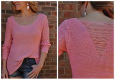 Spring sweaters. Love this look!