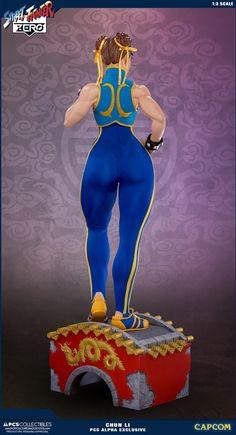 Street Fighter Chun-Li Alpha Statue by Pop Culture Shock Street Fighter Alpha, Anime Figures, Action Figures, Pop Culture Shock, Blue Leotard, Street Fighter Characters, Chun Li, Cultura Pop, Bruce Lee