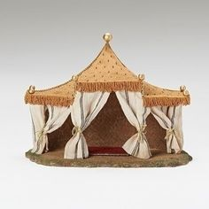 From the Fontanini Collection Discover the true meaning of Christmas while building family traditions, add this King's tent to your Fontanini Nativity collection today! of the Nativity collection Dimensions: x x Material(s) Wooden Crates Christmas, Journey To Bethlehem, Fontanini Nativity, Christmas Nativity Scene, Free To Use Images, Ceramic Houses, Christmas Shopping, Christmas 2019, Xmas