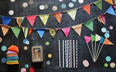 DIY Birthday Party Kit by cocosailore on Etsy, $68.00