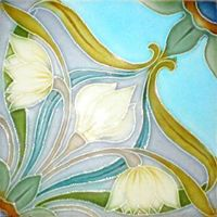 Art Nouveau Tile...Beautiful.