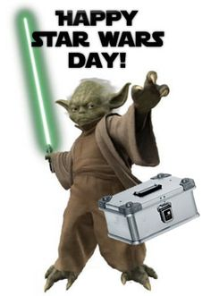 May the 4th be with you :) #StarWars Day #Zarges