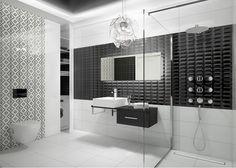 Czarno-biała łazienka: czy wiesz, jak ją zaaranżować? - Lazienkaplus.pl