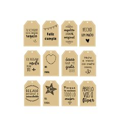 Etiquetas descargables para tus regalos. - Sweet dreams of scrap