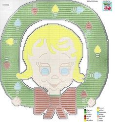 Plastic Canvas Christmas, Plastic Canvas Crafts, Plastic Canvas Patterns, Christmas Perler Beads, Apple Wreath, Christmas Wall Hangings, Cross Stitch, Stitch 2, Tissue Boxes