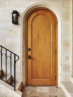 Arched Door. Ryan Street & Associates.Austin TX. Photos by Casey Dunn.