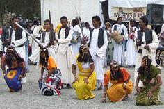 Tigre cultural group - Festival Eritrea 2006 - Asmara Eritrea.