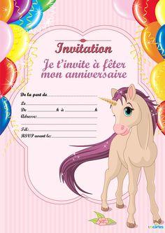 47 meilleures images du tableau Anniversaire enfant invitation   Birthdays, Invitation cards et ...