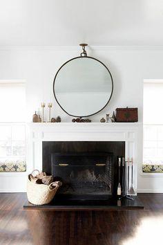 Carla Lane Interiors - Santa Monicahome - desire to inspire - desiretoinspire.net - fireplace