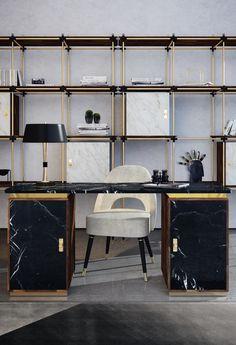 Besoin d'idées pour créer un espace bureau confortable tout en restant élégant et professionnel? Alors jetez un coup d'oeil à cet article qui pourra peut-être vous inspiré! #essentialhome #bureaux #decoration #espaces #office
