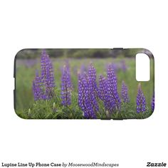 Lupine Line Up Phone Case