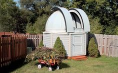 Well of course!  I need to have a backyard observatory!