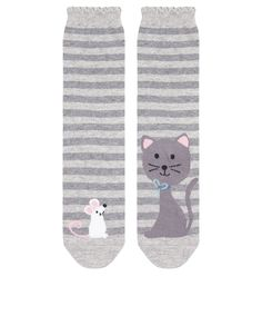 Cat And Mouse Socks