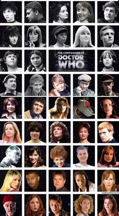 Every companion ever! I Am The Doctor, Doctor Who 10, Doctor Who Facts, Original Doctor Who, Classic Doctor Who, Doctor Who Companions, Beautiful Christina, Tv Doctors, Sci Fi Horror