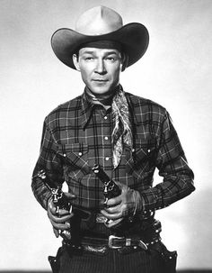 Actor/singer, Roy Rogers was born on Nov. 5, 1911. He died July 6, 1998.