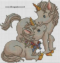 horses cross stitich pattern by syra1974.deviantart.com on @deviantART