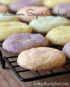 Lemon Sugar Cookie Recipe