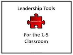 This packet of materials offers a great way to begin encouraging leadership in your classroom.  There are brainstorm sheets as well as job applications and goal setting sheets with reflection tools.  If you want to build leadership in your classroom, this is a great place to start.