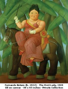 Botero, Fernando (1932-) the First Lady