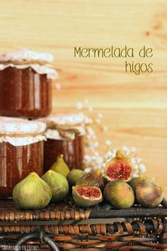 mermelada-de-higos3 Plum, Food And Drink, Apple, Fruit, Gluten, Sweets, Tomato Jam, Homemade Liquor, Fruits And Vegetables