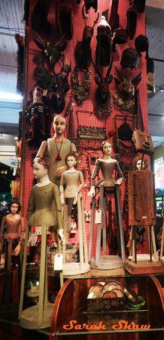 Santos and Masks for sale at Cargo in Portland, Oregon via WanderShopper