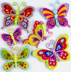 Naklejka 3D - Motylki | Decorative sticker 3D - Butterflies | 26,45 PLN#decorative #sticker #butterfly#home_decor #interior_decor#3d