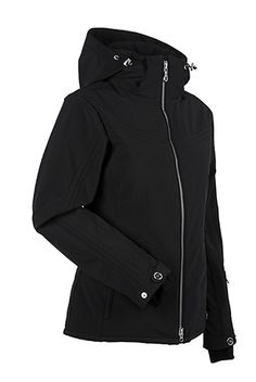 Women's ski and snowboard jacket. Be a hooded wonder in the Terri this winter. The Terri is hip length with three layer fabric, four way stretch and multi-needle topstitch detail. So plug in your iPod, pop that hood up and fly like Leanne Smith down those slopes. WATERPROOF- 20,000mm. BREATHABLE- 20,000g.