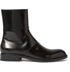 Jil Sander Vulcanized Leather Boots i2vmH48q