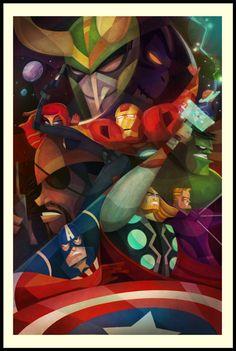 21 Of The Most Creative Marvel Avengers Fan Art Comic Book Characters, Marvel Characters, Comic Character, Comic Books Art, Comic Art, Character Design, Die Rächer, Blake Steven, The Avengers