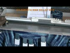 Set-In Sleeve Knitted in from the top down - YouTube-Roberta Rose Kelley