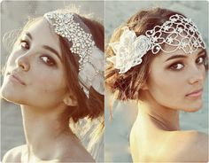 Why Not Try Hair Accessories in This Autumn? updo with flower hair elastic bands and brown medium hair extension  clip on
